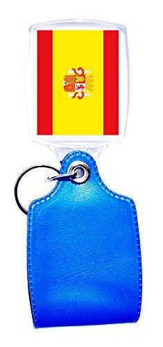Llavero azul bandera España: Amazon.es: Hogar