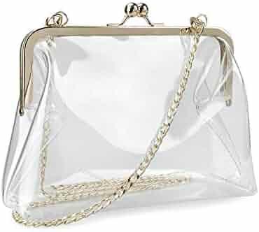 18f2d4e257a7 Shopping 3 Stars & Up - Clear - Clutches & Evening Bags - Handbags ...