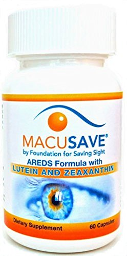 MacuSave (AREDS Formula): Complete Supplements for Eye and Vision Health