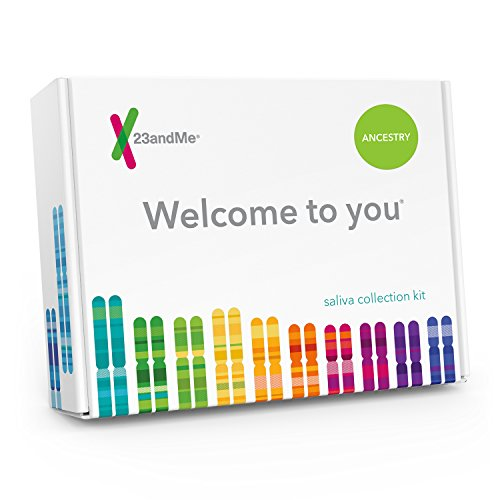 23Andme Dna Test Ancestry Personal Genetic Service   Includes At Home Saliva Collection Kit