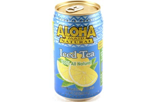 ALOHA MAID Iced Tea With Lemon, 11.5 FZ by Aloha Maid (Image #1)