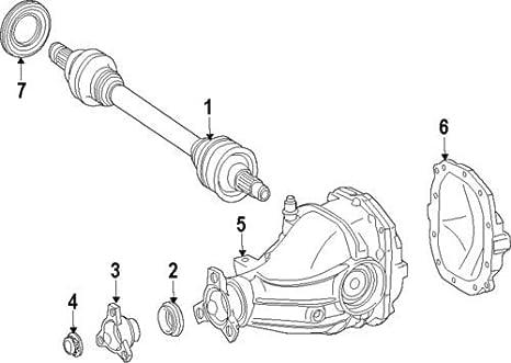Amazon Com Mercedes Benz 025 997 00 47 Differential Pinion Seal