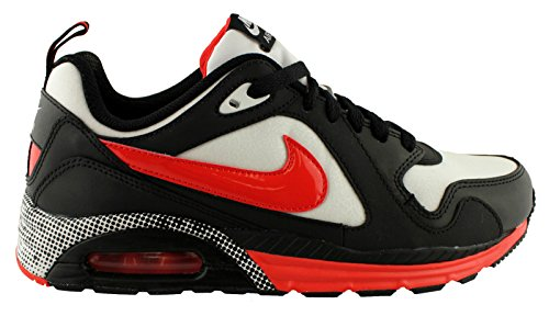 Womens Nike Air Max Trax Premium Shoes  Size 8 5  White Light Crimson Black