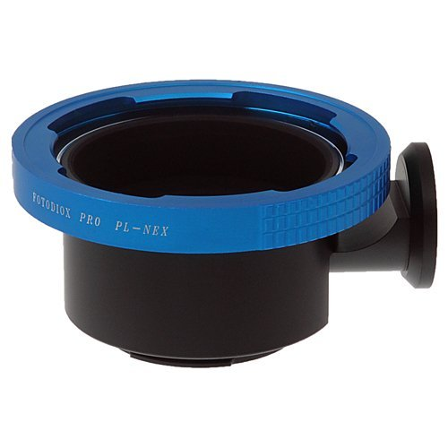 Fotodiox Pro Lens Mount Adapter - Arri PL (Positive Lock) Mount Lens to Sony Alpha E-Mount Mirrorless Camera Body