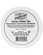 Mehron Makeup Clown White Lite Professional Makeup (7 oz)