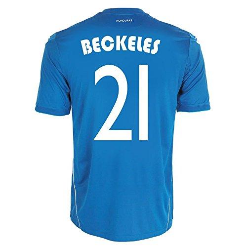 デモンストレーションイベントアレンジJoma Beckeles #21 Honduras Away Jersey World Cup 2014/サッカーユニフォーム ホンジュラス アウェイ用 ワールドカップ2014 背番号21 ベッケレス