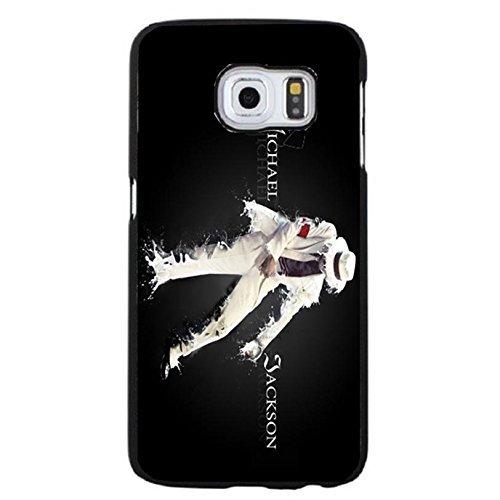 Cool Handsome Michael Jackson Phone Case Cover for Coque Samsung Galaxy S6 Edge Plus MJ Skin,Cas De Téléphone