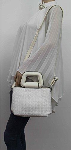 SwankySwans Pochette Pochette SwankySwans femme pour pour Blanc pour Pochette SwankySwans femme Blanc femme Blanc 18waqda