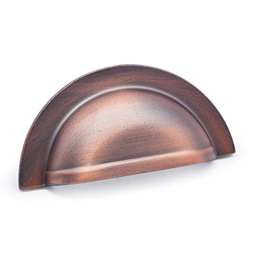 - RK International RKI R.K. International CF 5249 DC Smooth Half Circle Cup Pull, Distressed Copper,