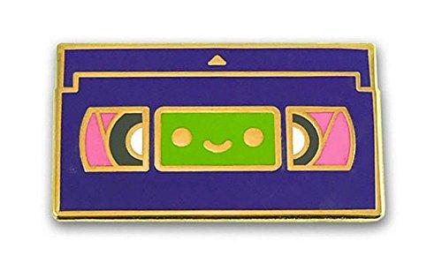 Lil VHS Enamel Pin by 100% Soft (Vhs Pin)