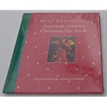 Mary Emmerling's American Country Christmans List Book