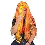 Adult Halloween Rapper tekashi69 Deluxe Costume Accessory Wig