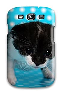 Areebah Nadwah Dagher's Shop New Style Case Cover Kitten Trying To Walk Compatible With Galaxy S3 Protection Case 3577080K25443432
