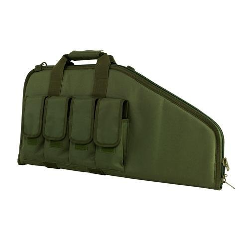 (VISM by NcSTAR Full Size Rifle Pistol CASE (2907 Style)/Green)