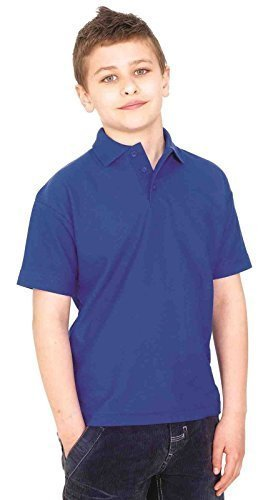 uneek-clothing-kids-childrens-poloshirt-220-gsm-brown-11-13-yrs