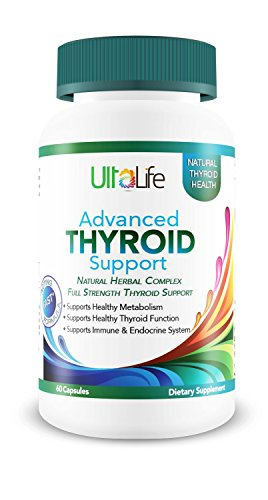 #1 Best Advanced THYROID Support -Tackles Tough Symptoms + Boosts Your Metabolism + Naturally Increases Energy + Promotes Weight Loss + Improves Mood Swings + Supports Immune Function. 100% Money Back by UltaLife