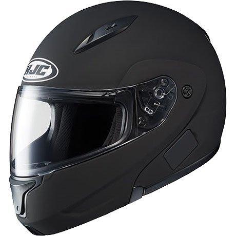 (HJC Solid Men's CL-MAX II Bluetooth Sports Bike Motorcycle Helmet - Matte Black /)