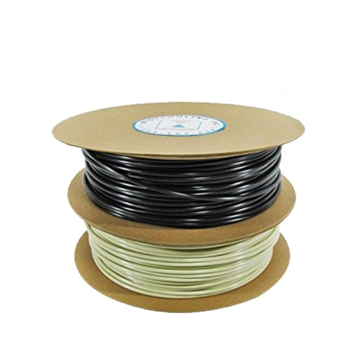 PE Tubing - Black Color Rolls -For Misting Systems - Drip Irrigation Tubing - Rated for 300 PSI (3/8'' - 500 ft Roll BL)