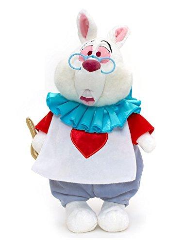 6d44fb84ada Amazon.com  Disney Alice In Wonderland Exclusive 15 Inch Deluxe Plush  Figure White Rabbit  Toys   Games