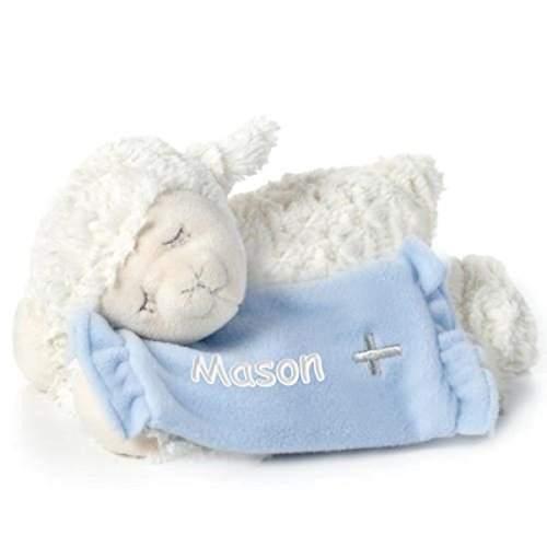 Personalized Baptism Gift - Lay Me Down To Sleep Lamb - Baby Personalized Lamb