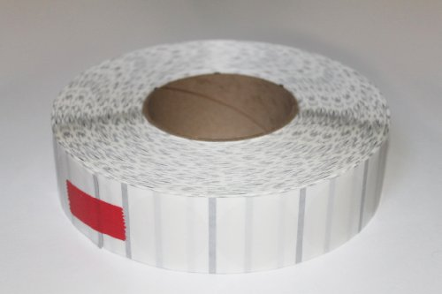 ShipFrog CLT15 Wafer Tab Seals, 1.5 inch Diameter, Translucent without Perf, 4,000 per Roll