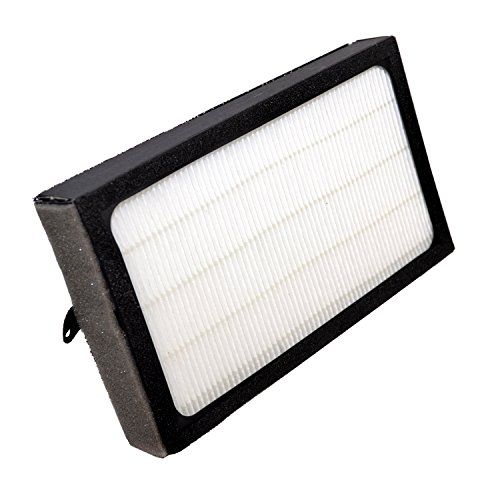 HQRP Filter E for GermGuardian FLT4100 fits AC4100 Series AC4150PCA AC4150BCA 3-in-1 Table-Top Air Purifiers + HQRP Coaster