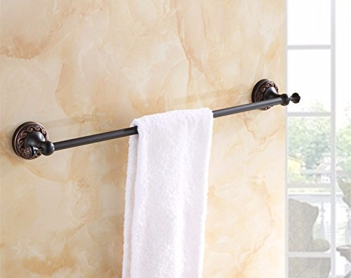 HOMEE All Copper European Bathroom Towel Bar,B by HOMEE