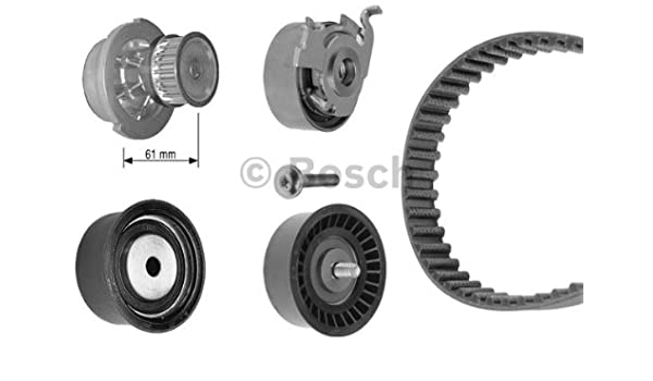 Amazon.com: OPEL Zafira Astra G BOSCH Timing Belt Kit + Water Pump 1.4-1.6L 1998-2005: Automotive