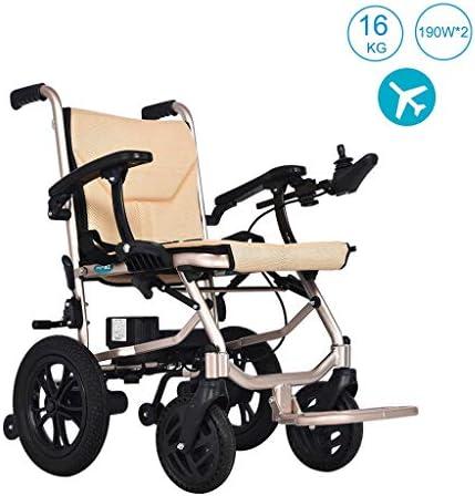 実用的 調節可能な6ファイルのオープン/ 1第二に二重の保護に折る車椅子16キロリムーバブルリチウム電池手すり折りたたみ軽量電動車椅子、 福祉