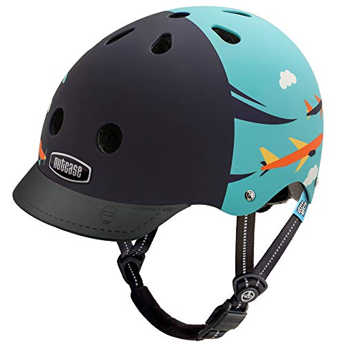 Nutcase - Little Nutty Bike Helmet for Kids, Sky Flyer Matte