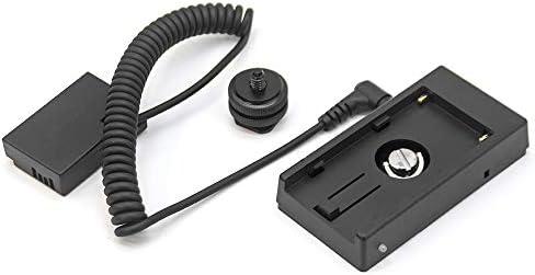 Cable de alimentación para NP-F NP-F970 NP-F960 con batería LP E17 ...