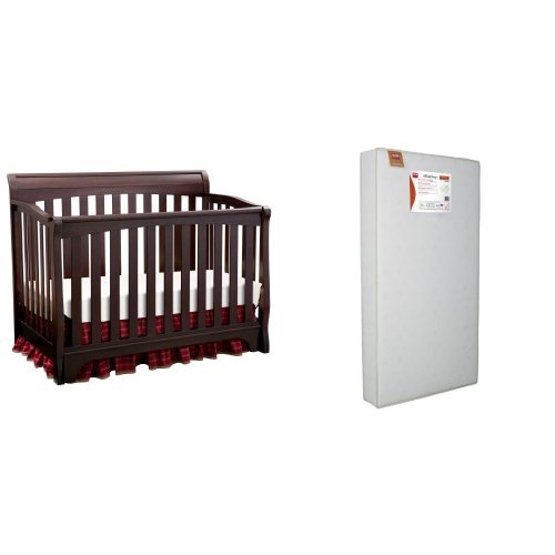 Delta Children Products Eclipse 4 in 1 Convertible Crib a...