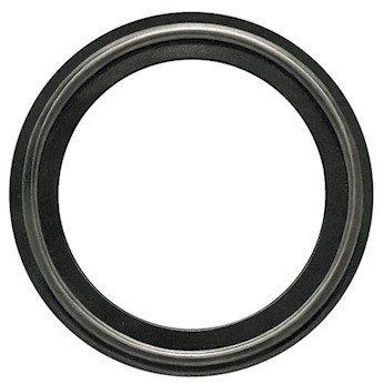Buna-N Sanitary Gasket, Black, 4'' Tri-Clamp; 1/Pk by Cole-Parmer