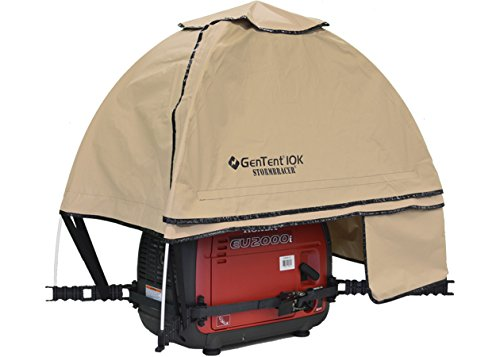 GenTent 10K Generator Tent Running Cover - XKI Kit (Standard, TanLight) - Compatible with 1000w-3000w Inverter Generators