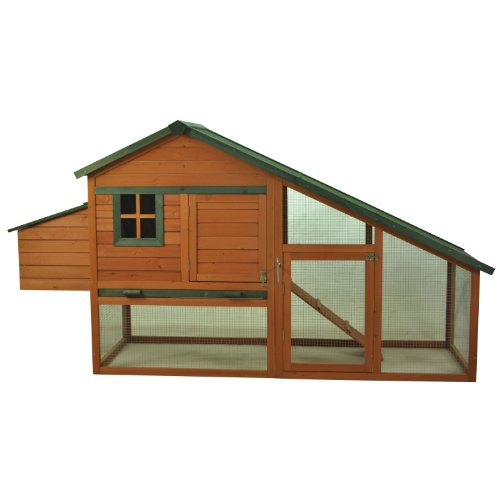 Pawhut-Wooden-Backyard-Slant-Roof-Hen-House-Chicken-Coop