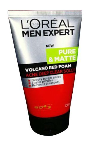 L Oreal Paris Men Expert White Activ Total Skin Renewer Volcano Red Foam 100 ml