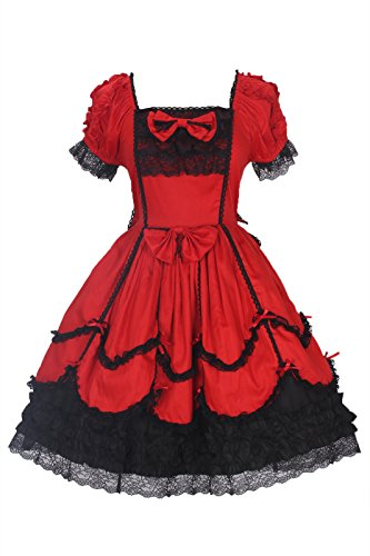 Nuoqi (Red And Black Fancy Dress)