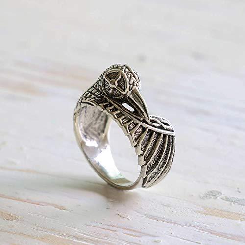 Amazon Com Odin Ravens Ring Viking Jewelry Celtic Pagan