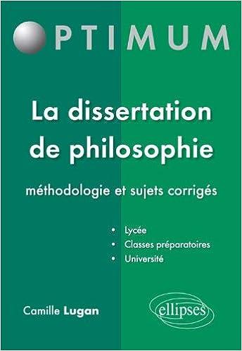 Corrige de dissertation gratuit