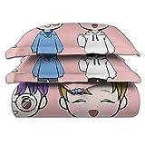 Ultra Soft Cute_Lankybox 3 Piece Bedding Set with