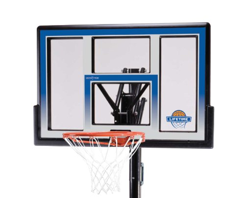 081483000640 - Lifetime 51550 48 Inch Portable Basketball Hoop carousel main 1