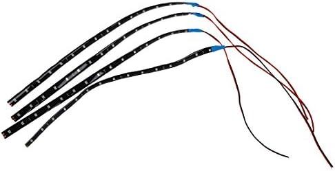 X Etanche Leds 4 15 12v Bande 30x1cm Sodialr Eclairage Bleu Lampe Flexible SUzMGqpLV