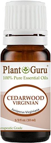 Red Cedar Timber - Cedarwood (Virginia) Essential Oil 10 ml. 100% Pure Undiluted Therapeutic Grade.