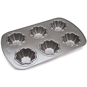 Wilton Nonstick 6-Cavity Ice Cream Cookie Bowl