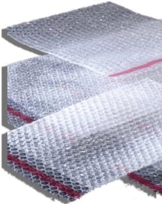 20 Taschen Uni Luftpolsterfolie, 100 mm x 130 mm (BP01) 10,2 x 12,7 cm