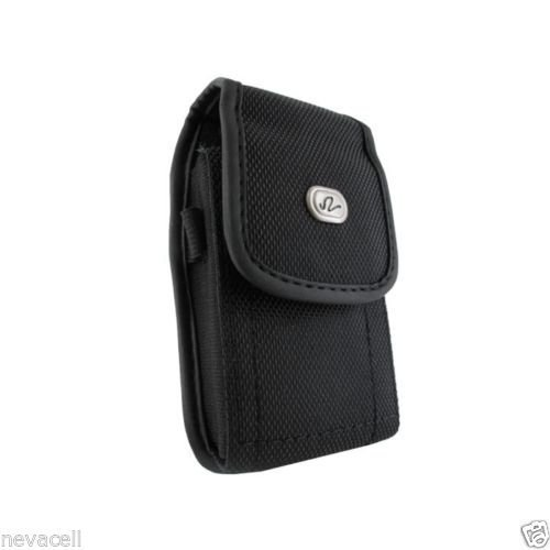 Loop for Paylo Kyocera Kona FYLBlack Canvas Case Pouch Holster with Belt Clip