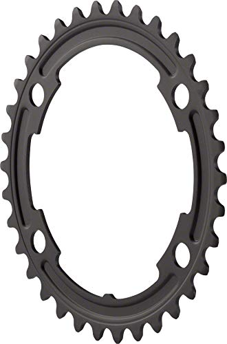 Shimano 105 5800-L 34t 110mm 11-Speed Road Bike Chainring For 50/34t Black ()