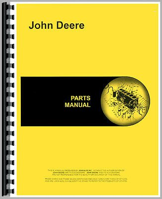 New John Deere 112 Lawn & Garden Tractor Parts Manual