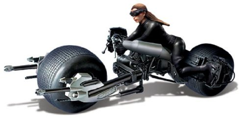 Moebius The Dark Knight Rises: Batpod with Catwoman 1:18 Model -