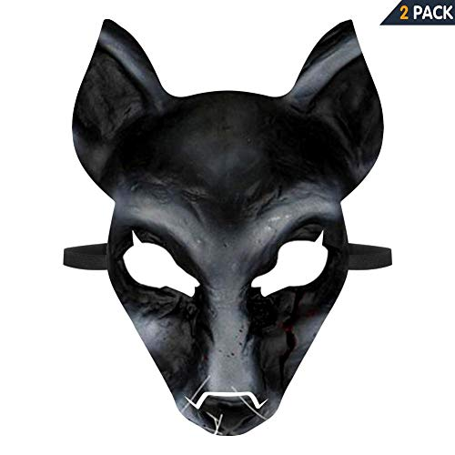 WOWMUM Pet Sematary Cosplay 3D Print Halloween Scary Mask Costume Festival Party Decoration Props ()